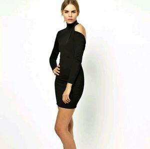 Solace London Dresses - Solace London Cairn Mini Dress Bodycon Cutout Back